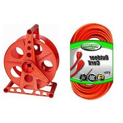 2 IN 1 BUNDLE Cable Extension Cord and Cord Reel.