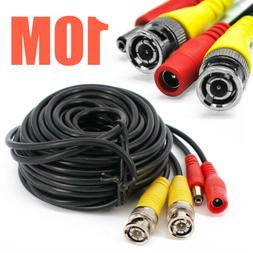 10M BNC DC RCA Audio Video Power Extension Cable For CCTV Se