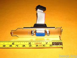 12Pin VGA CRT DSub Low Profile Half Height Size Length Exten