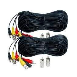 2x150 ft Audio Video Power Extension Cable CCTV HD Security