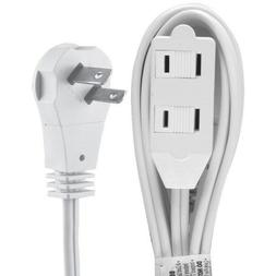 Ge 50360 Wall Hugger Extension Cord, 6 Ft