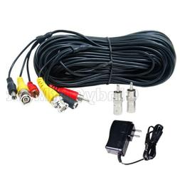 150 ft Audio Video HD Security Camera Extension Cable RCA BN