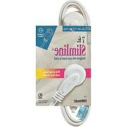 Cord Ext Indr Slm 16/2x7ft Wht