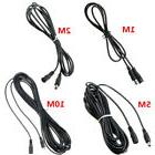 0.5M-10M DC 12V Power Extension Cable Cord Adapter For CCTV