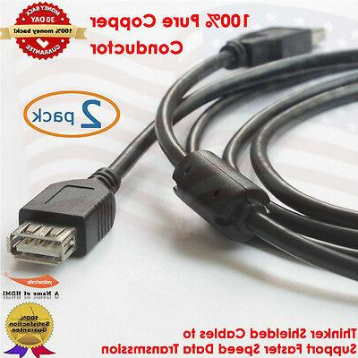 2 0 usb extension cable 6 feet