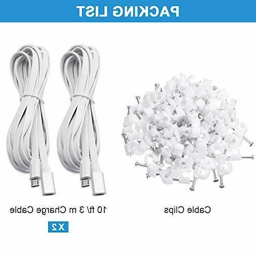 2 Pack Extension Cable Male Female Cord Zmodo Camera