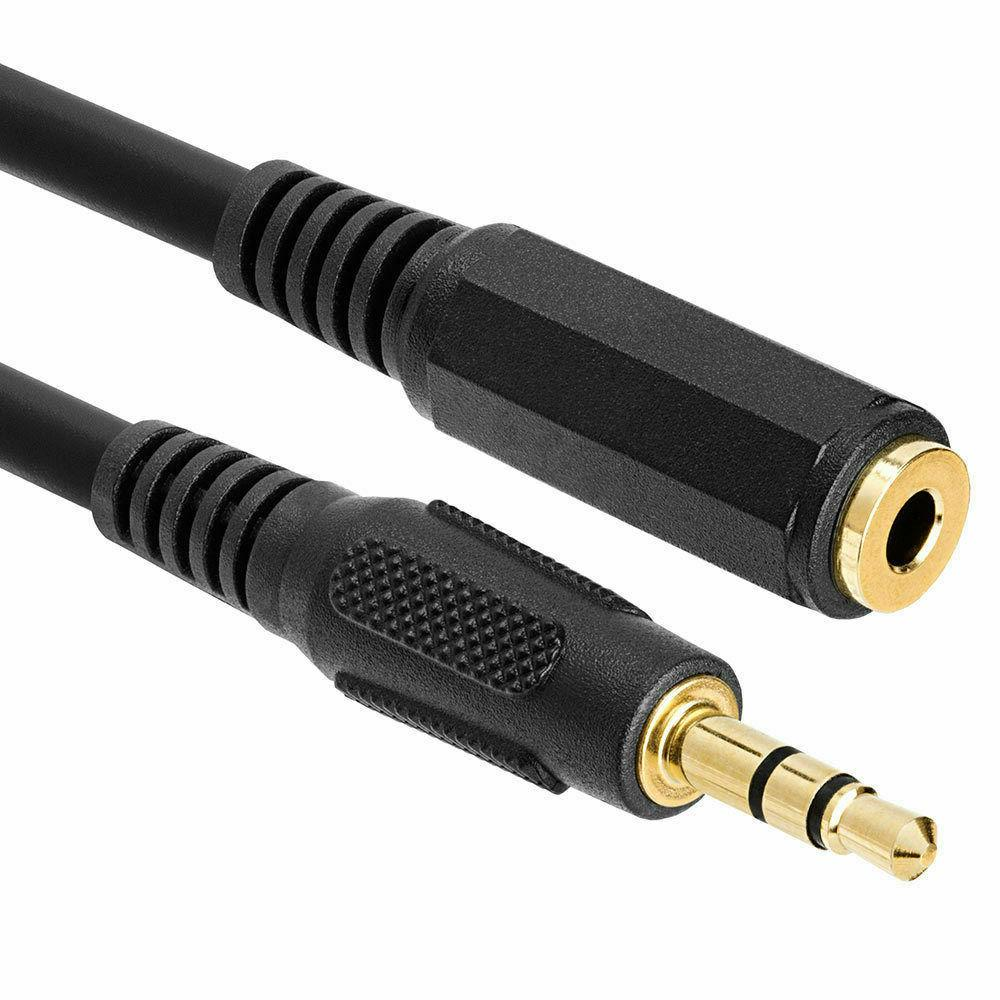 headphone extension cable 3 5mm jack male