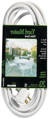 Yard Master 992222 Outdoor Extension Cord, SJTW Rated Weathe