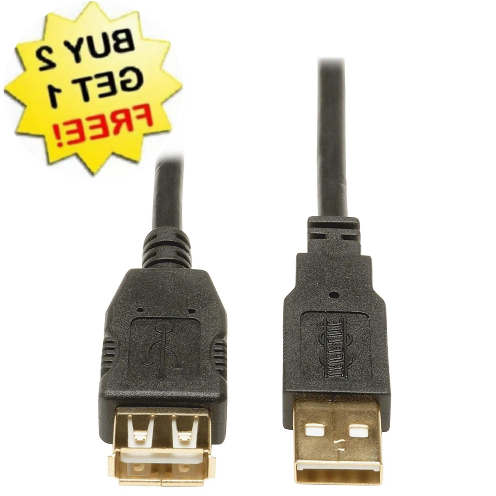 Cmple - USB 2.0 Extension Cable A Male To A Female Extension