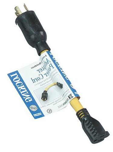 Coleman Cable Generator Cord Adapter From L5-20P To 5-15R