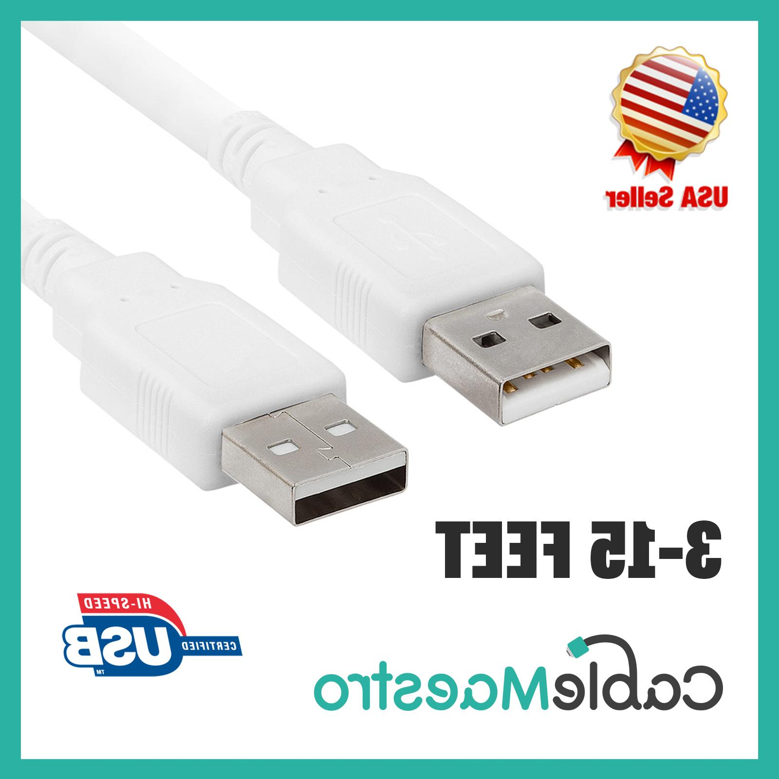 USB Cable Male to A 3-15FT