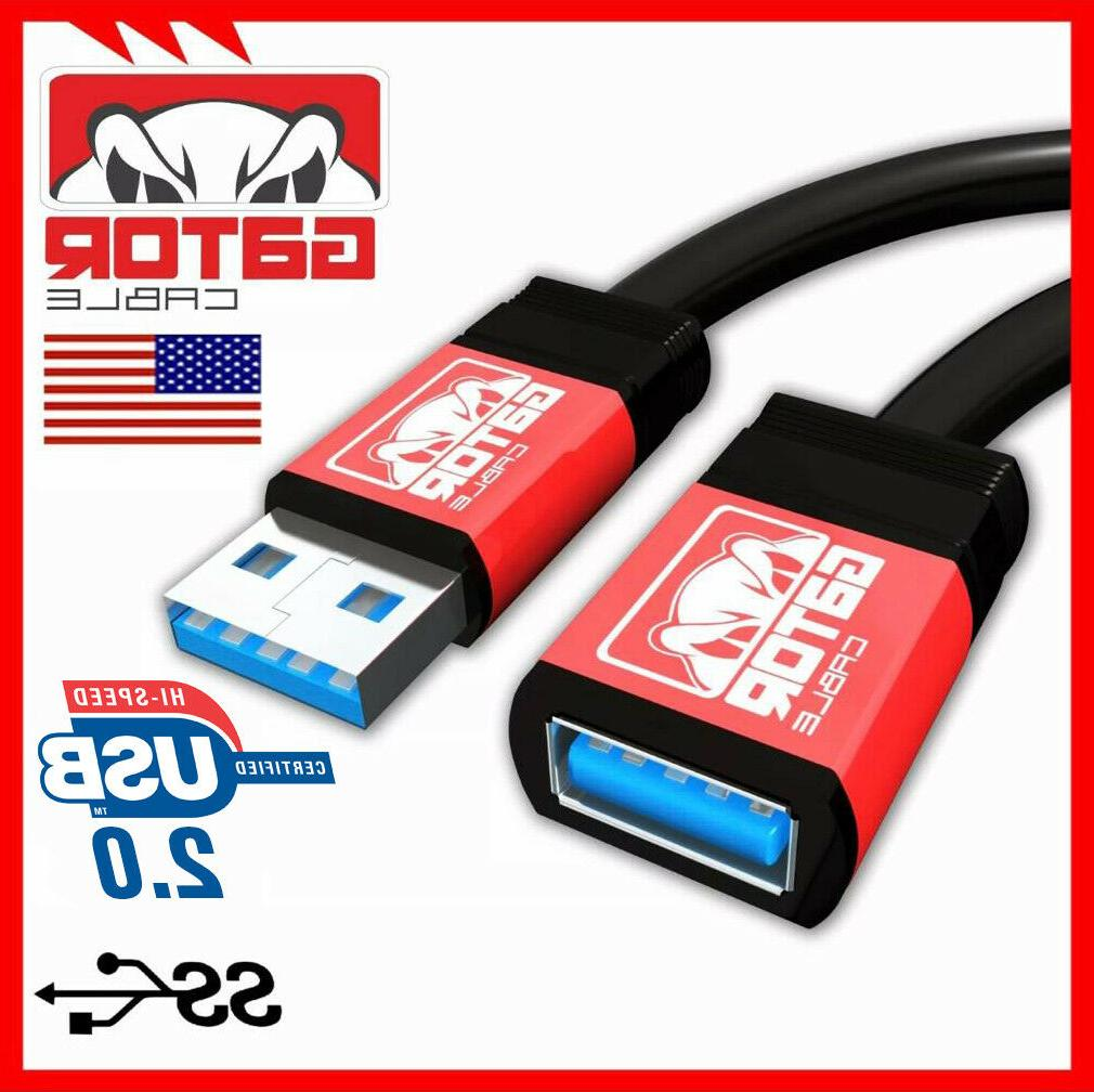 USB 2.0 High Extension Male to Female Powered Sync