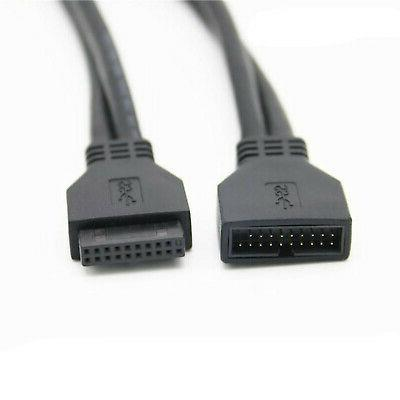 usb 3 0 20 pin male to