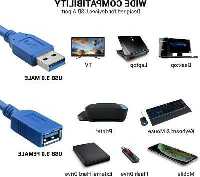 USB 3.0 Cable High-Speed Printer Mouse