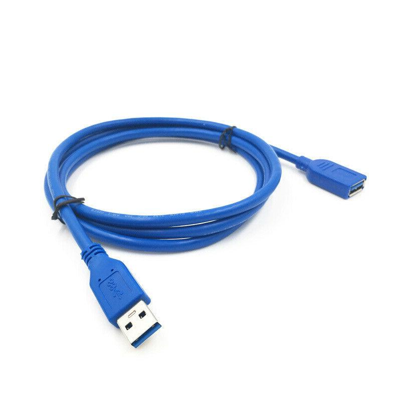 USB 3.0 Cable M/F Type A Male Female Blue