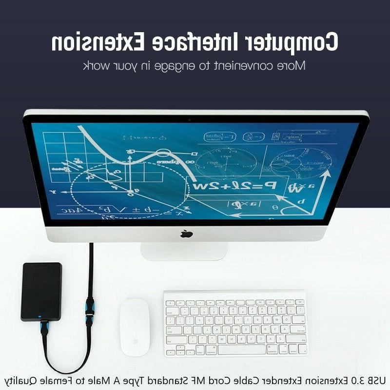 USB Extension Extender Cable Cord M/F Type A Male Female Quality