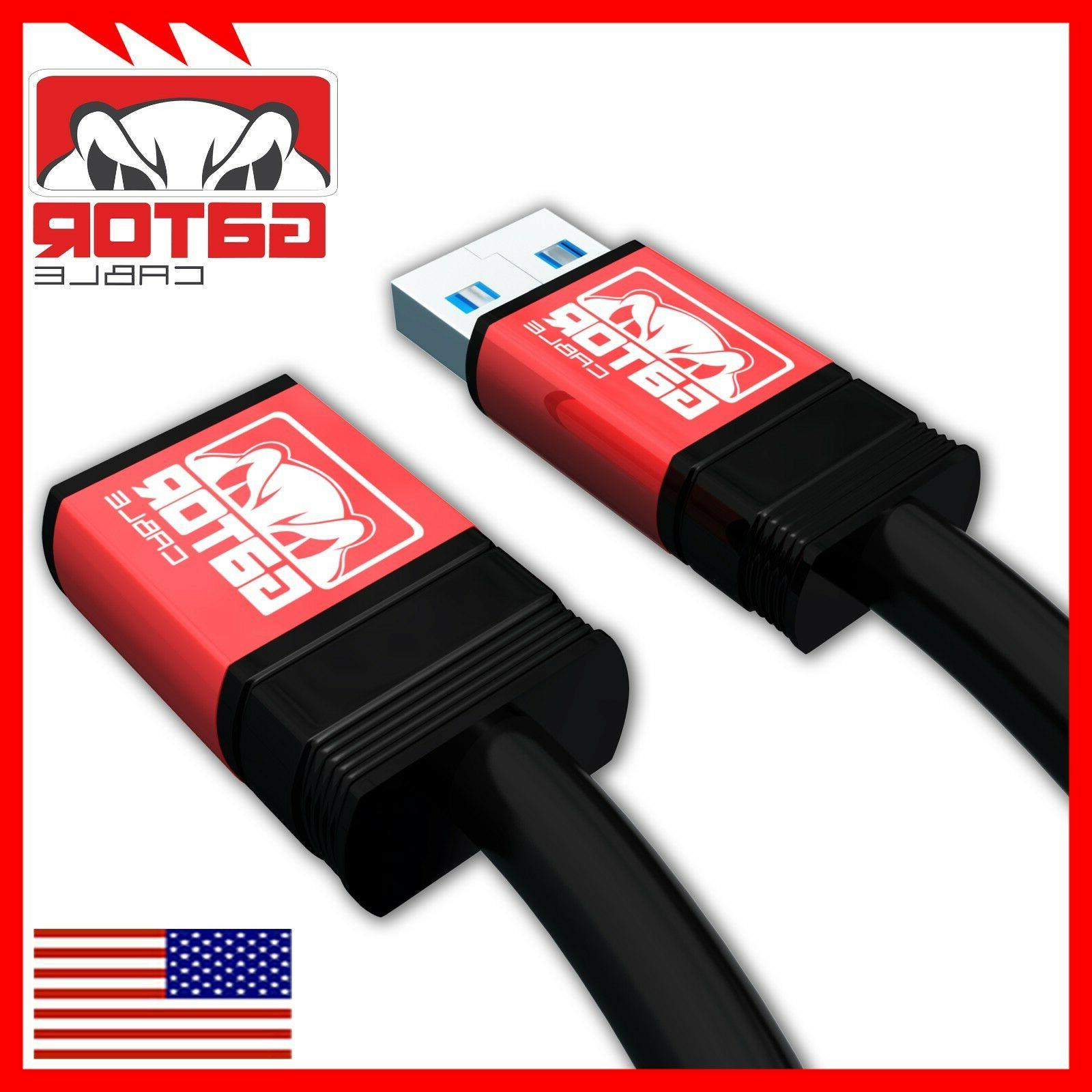 USB Extension to Female Powered Sync