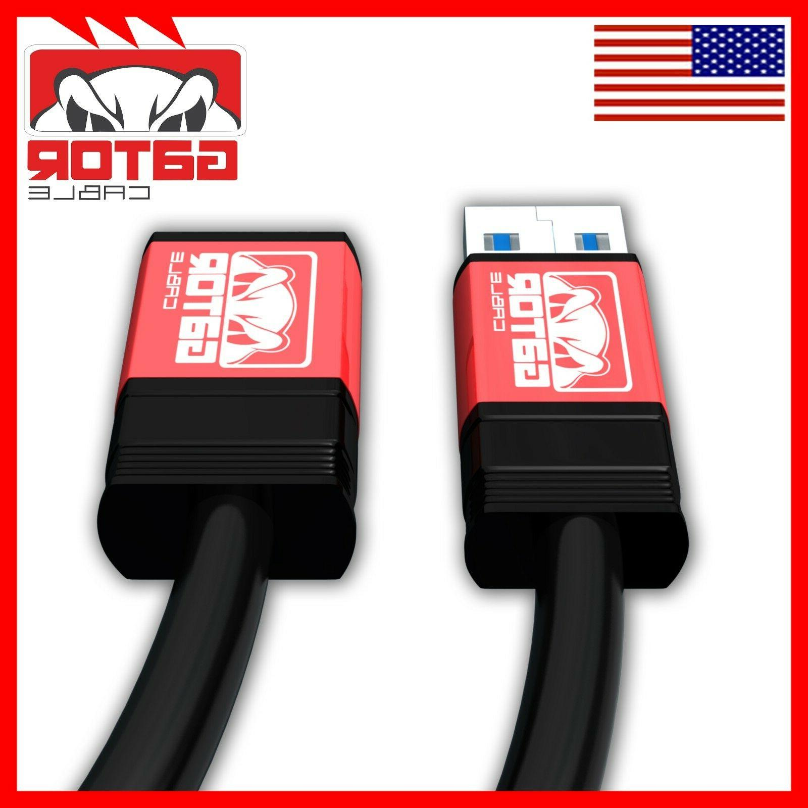 USB 2.0 High Extension Cable Male to A Powered Sync