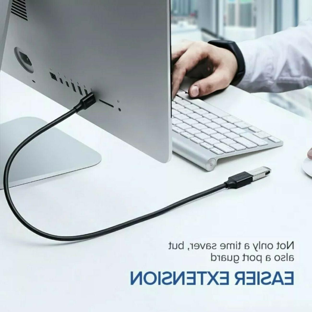 USB Super Extension Cable to Charger Powered Data Sync