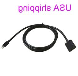 Lightning extension cable male to female video audio for Iph