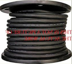 NEW 50' 6/4 SOOW SO SOO SOW BLACK RUBBER CORD EXTENSION WIRE