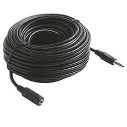 """NEW 50 ft 3.5mm 1/8"""" stereo headphone extension cord/cable"""