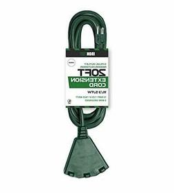 Iron Forge Cable Outdoor Extension Cord with 3 Electrical Po