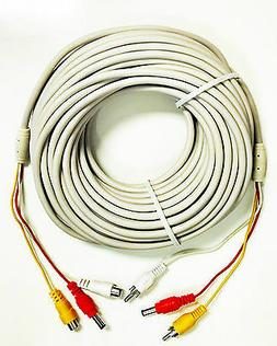 RCA Video Audio And Power Extension Cable 60 Feet Long W001A