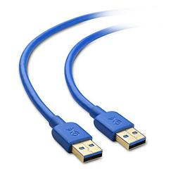 Cable Matters SuperSpeed USB 3.0 Type A Cable in Blue 10 Fee