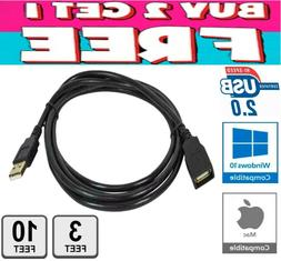 USB 2.0 High Speed Extension Cable Male A to Female A Charge