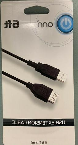 ONN USB Extension Cable - Length 6 FT NEW IN BOX