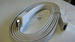 White H HDMI Extension Cable High Speed Male to Female Cable
